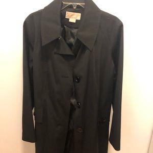 Michael Kors black trench coat - XL